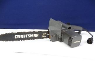 Craftsman 14 Electric Chainsaw