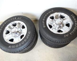 Dodge FullSize WheelTire Package