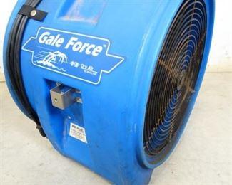Gale Force Blower Motor Fan