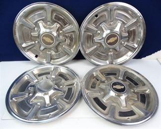 Original 1982 Chevy Silverado Wheel Covers