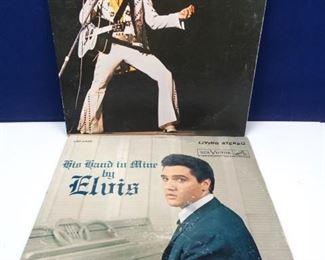 Vintage Elvis Vinyl Records
