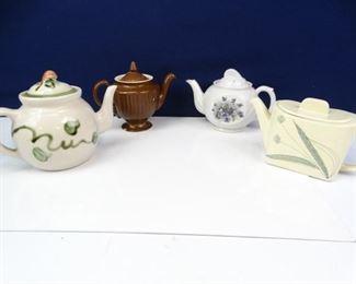 Vintage Tea Pots Crystal Decanters