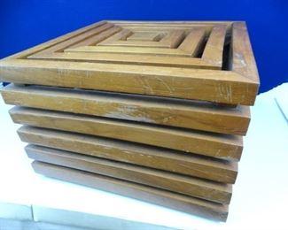 Hand Made, Designer Mahogany Table