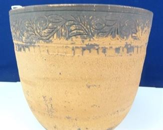 Large, Rustic, Traditional Clay Planter Pot
