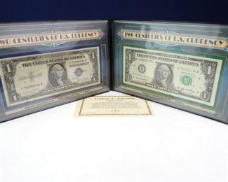 Two Centuries of Currency