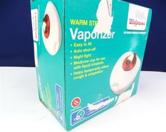 Walgreens Warm Steamer Vaporizer