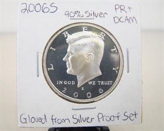 90% Silver 2006-S High Grade KennedyHalf DollarProof