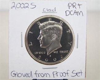 Clad 2002-S High Grade KennedyHalf DollarProof