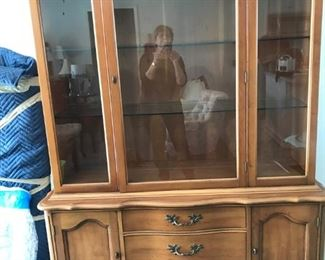 China Cabinet - part of 3 pc set
