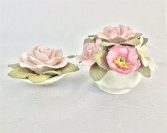 Floral Bone China Company. Handmade Bone China.