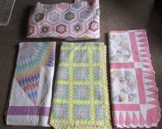 20th Century Hand made Quilts