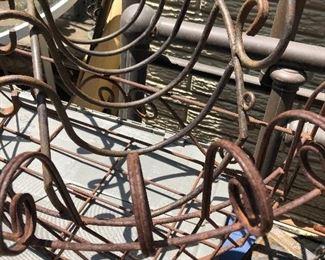 Plant iron hangers