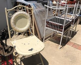 Folding unusual chair