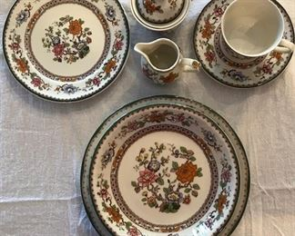 Beautiful set of imported Ceranova china