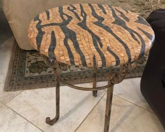 Unique end table