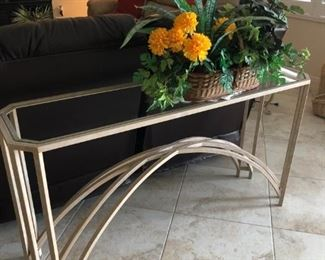 Sofa table to match end tables and coffee table