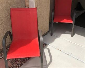 clean patio chairs
