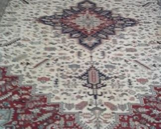 Many of these great rugs throughout