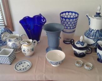 Blue and white-many eras and styles