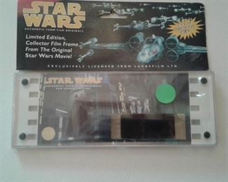 Star Wars film frame
