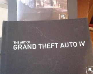 Grand theft auto the art and the music and the metal box