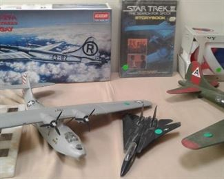 Star Wars. Star Trek, Vintage Aircraft models - more toys coming from the family, soon!