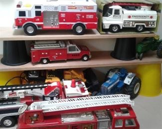 Firetrucks tractors and more