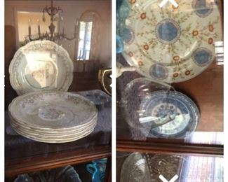 Gorgeous China in China cabinet