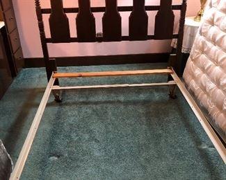 Full Size headboard, frame and mattress