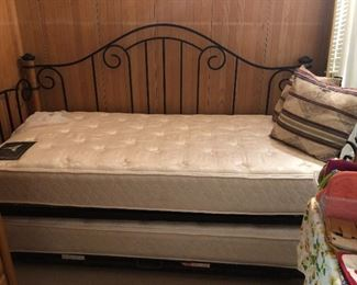 Barely used day bed. Two twin beds!