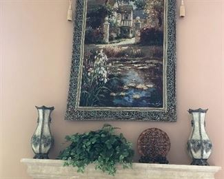 Large tapestry, decorative decor