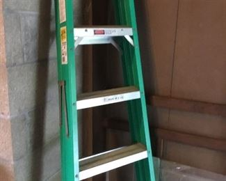 Werner fiberglass ladder