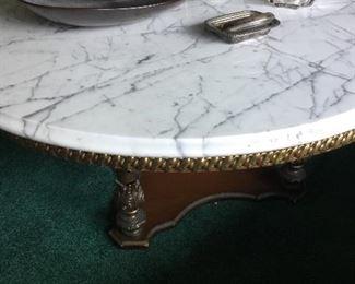 Marble-top coffee Table...BEAUTIFUL!
