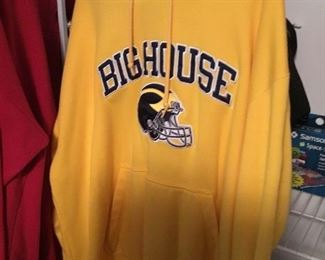 College athletic wear