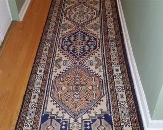 Hand Knotted Runner