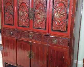Beautiful Chinese Cabinet HUGE