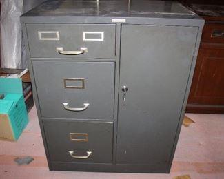 Steelmaster filing cabinet