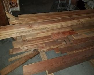 Fir flooring, only what is in this stack