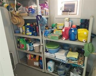 misc kitchen, laundry room