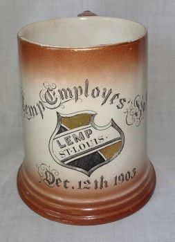 St. Louis Lemp Brewery Employees Ball Dec. 12th 1903 (1904 St. Louis World's Fair)