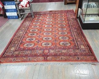 Hand woven Afghan tribal rug!