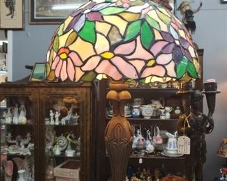 50% OFF ALL STAINED GLASS LAMPS LRV