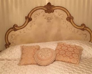 King Headboard and bed