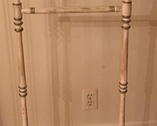 Painted Valet Stand