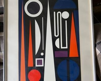 """Auguste Herbin, """"Minuit"""", litho signed and numbered 118/150"""
