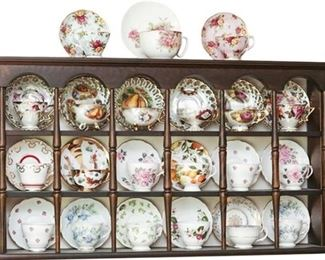 8. Group Lot of Porcelain Teacups