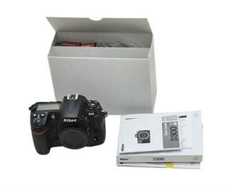 4. NIKON D 300 Camera