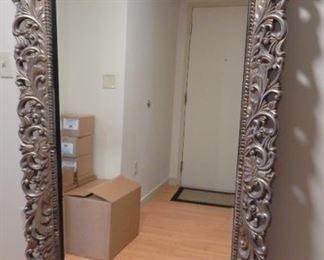 "Large decorative mirror - 70"" tall x 40"" wide"