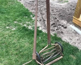 Antique Push Lawn Mowers
