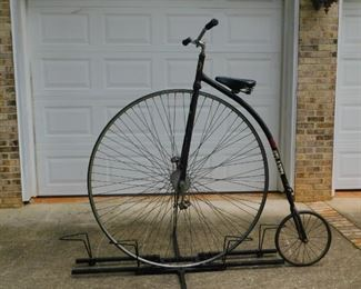 """Turn of the century """"Bone Shaker"""" early bicycle,  Rare to find!!!"""